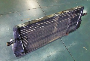 12V intercooler removed