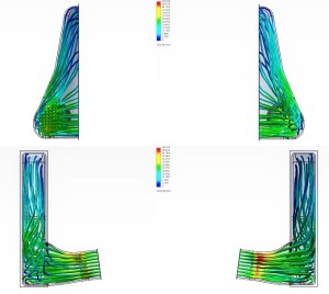 Mishimoto intercooler CFD analysis