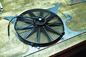 Second prototype with fan