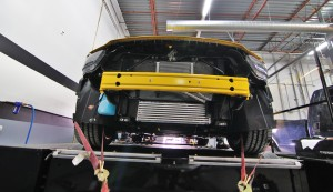 Intercooler dyno testing
