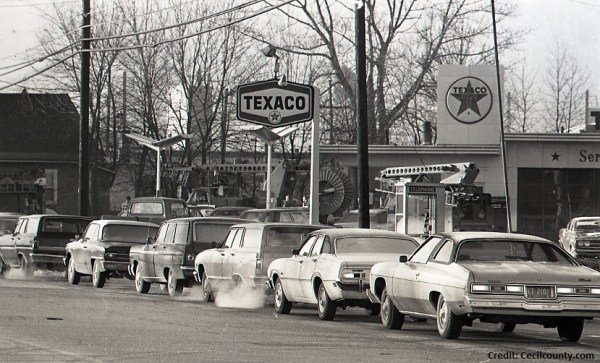 1979 Fuel crisis in Elkton, MD