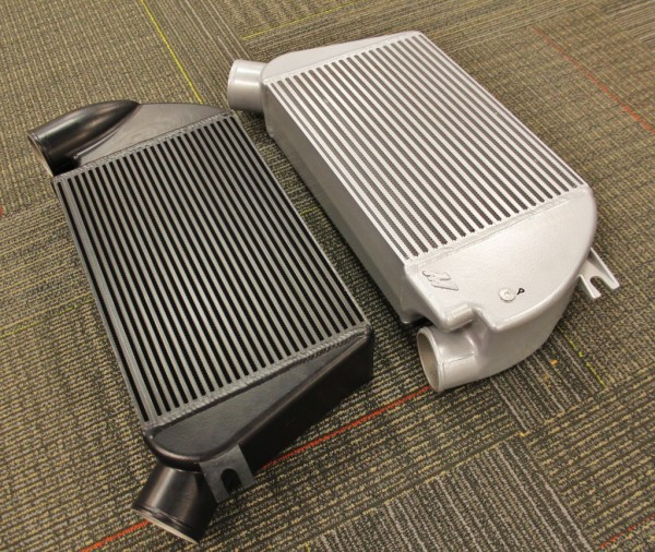Mishimoto powder-coated intercooler