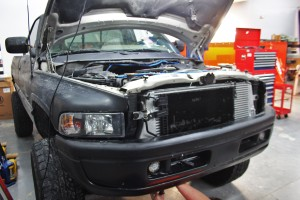 Mishimoto intercooler installation