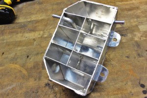 Mishimoto expansion tank prototype, internal baffling