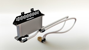 Oil cooler kit 3D model