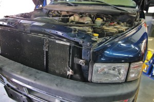 24-valve intercooler removal