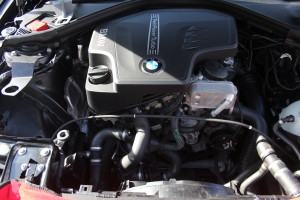 Stock BMW F30 intake removed