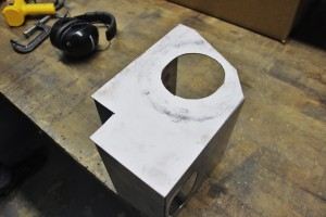 Ford Fiesta ST intake airbox fabrication
