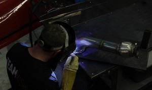 Welding some Fiesta ST parts