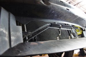 Power steering cooler