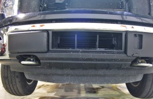Ford F150 EcoBoost intercooler duct