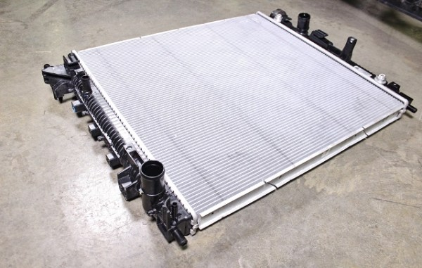 Stock 2016 Camaro radiator