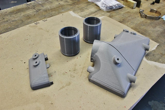 3D printing 6.7 Cummins intercooler end tank