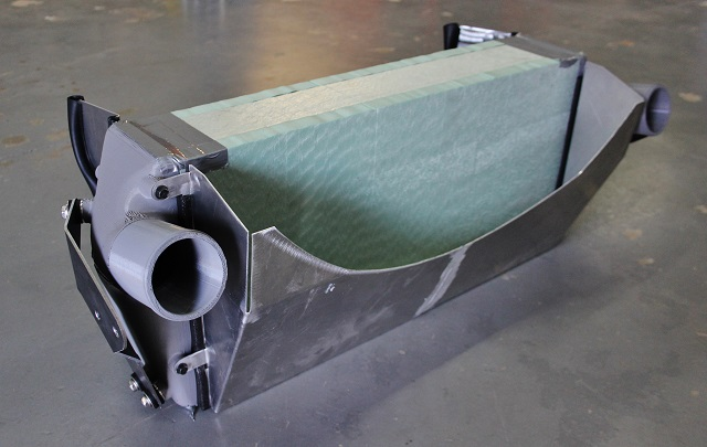 First Cummins intercooler prototype