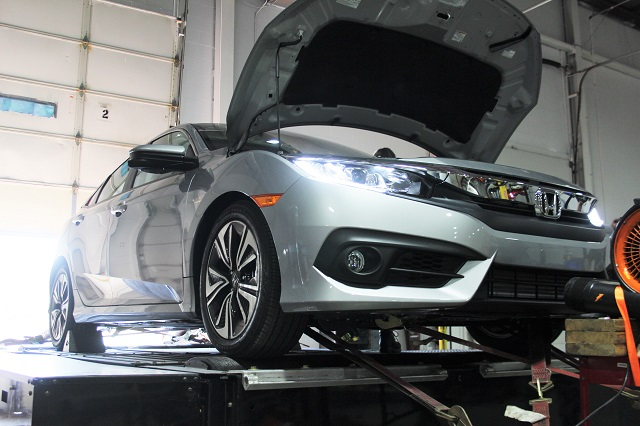 2016 Civic ready for intake dyno tests
