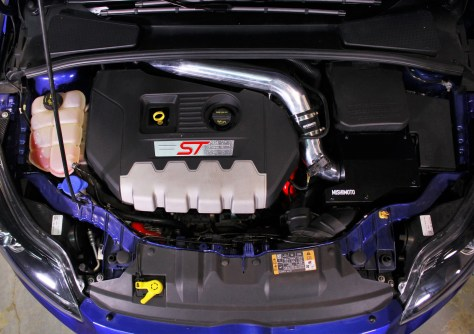 Prototype installed on the car