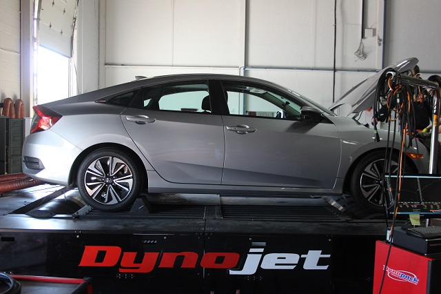 2016 Honda Civic parts dyno testing