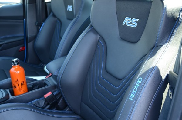 The interior of Mishimoto's brand new Focus RS