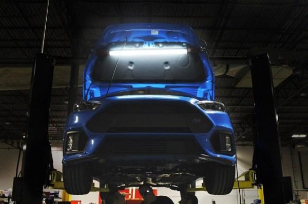 Development on the Focus RS catch can