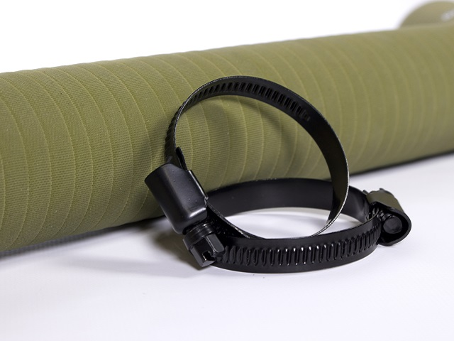 Our black hose clamps add even more style to these hoses