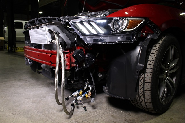 Mishimoto's Mustang Oil Cooler Testing