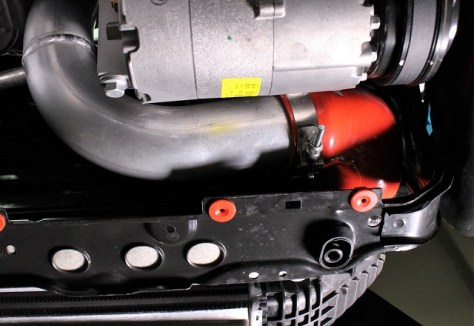 Cold-side Focus RS intercooler piping
