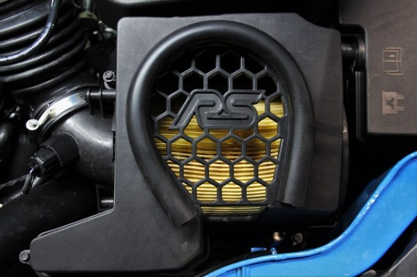 Stock air filter for the 2016 Ford Focus RS