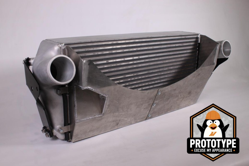 Mishimoto's Cummins intercooler prototype