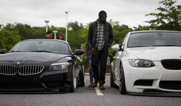 There was a general feeling of acceptance between the drivers. Even at the Delaware house, participants could be seen ogling each other's cars.