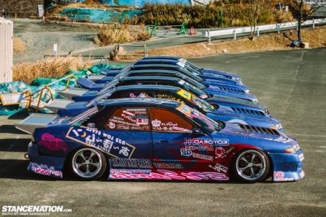 The entire team laid out. Courtesy of Stancenation!