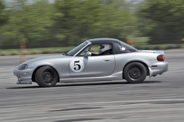 This Miata was setup for Autocross, but killed it when it came to drifting!