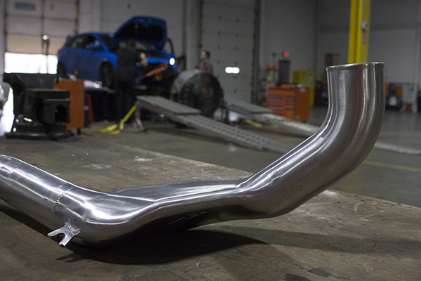 Prototype pipe ready to get mounted on our RS