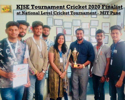 KJSE Tournament Cricket 2020 Finalist