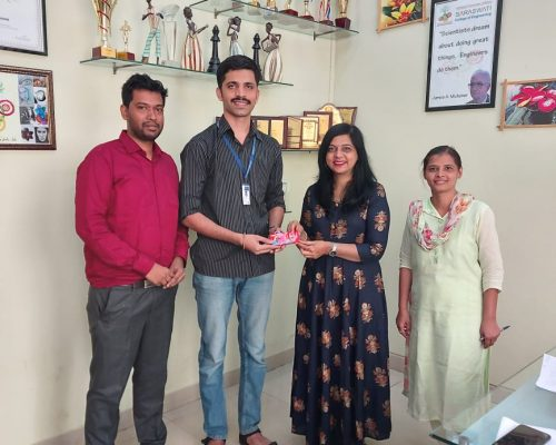 Pravin Palve - BE mechanical student got selected in- Solace Cogen