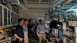 University of Virginia Engineering researchers work with Harvard University researchers on development of the Tunabot, a robotic fish