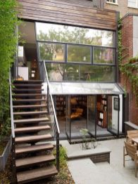 Chelsea townhouse is a three story contemporary renovation with a garden extension by architecture s.
