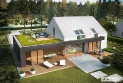 Projekt domu EX 18 G2 ENERGO PLUS _ widok z góry