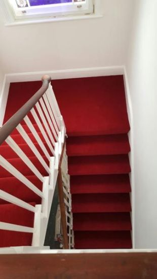 Best images_ photos and pictures about red stair carpet ideas _staircarpetideas _redstaircarpet R (2)