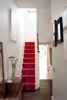 Best images_ photos and pictures about red stair carpet ideas _staircarpetideas _redstaircarpet R (4)