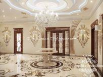 Дизайн дома в классическом стиле в Грозном _ фото