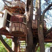 √ Tree house ideas for adult 2019 _treehouse _HomeOutdoor _adultreehouse _backyardideaas
