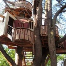 √ Tree house ideas for adult 2019 _treehouse _HomeOutdoor _adultreehouse _backyardideaas