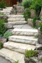 25 Best Ideas About Stone Steps On Pinterest Rock