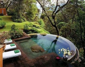 30_ Stunning Small Backyard Designs Ideas With Pool _backyardlandscaping _backyardplayhouse _backyar