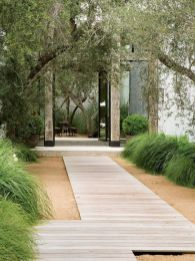 33_ Beauty and Affordable Wooden Garden Path Ideas _gardening _gardendesign _gardeningtips