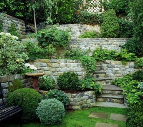46 Very Beautiful Little Garden Design Ideas _ _designideas _Verybeautifullittlegarden _Outdoor and
