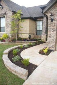(49_) Front Yard Landscaping Ideas _ Simple Design for Garden & Beds _homeoutdoor _outdoorliving _la (3)