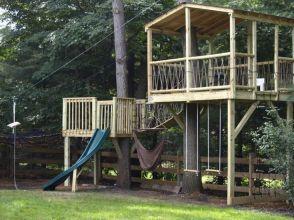 65_ Modest DIY Treehouse for Kids Play Ideas post _yards _yarddecorations _yardsale