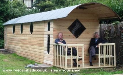 A blog about the lifestyle of shedworkers and those who work from garden offices and other shedlike