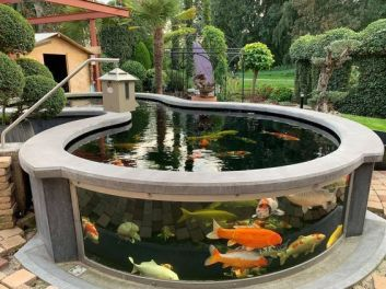 Above Ground Koi Pond_ 15_ Mesmerizing Ideas to Decorate Your Exterior _ RecipeGood